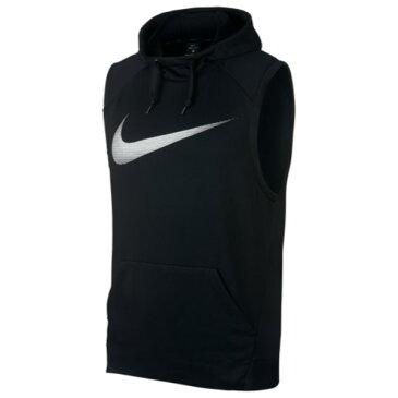ナイキ Nike メンズ トップス ノースリーブ【Lightweight Sleeveless Hoodie】Black/White