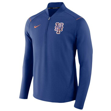 ナイキ Nike メンズ トップス【MLB 1/2 Zip Elite Game Jacket】Royal Heather
