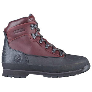 ティンバーランド Timberland メンズ ハイキング・登山 シューズ・靴【Euro Hiker Shell Toe Boots】Burgundy