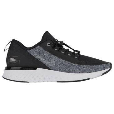 ナイキ Nike レディース ランニング・ウォーキング シューズ・靴【Odyssey React Shield】Black/Mtlc Silver/Cool Grey/Vast Grey