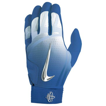 ナイキ Nike メンズ 野球 グローブ【Huarache Elite Batting Gloves】Game Royal/Chrome/Light Aqua