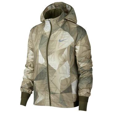 ナイキ Nike レディース ランニング・ウォーキング アウター【Shield Hooded Jacket】Olive Canvas/Olive Canvas