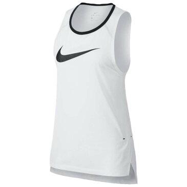 ナイキ Nike レディース トップス ノースリーブ【Breathe Elite S/L Top】White/Black