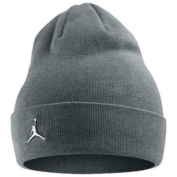 ナイキ ジョーダン Jordan ユニセックス 帽子 ニット【Jumpman Cuffed Beanie】Carbon Heather
