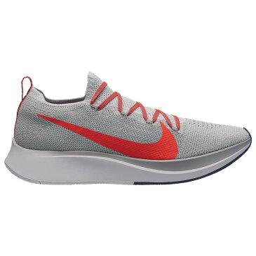 ナイキ Nike メンズ 陸上 シューズ・靴【Zoom Fly Flyknit】Pure Platinum/Bright Crimson