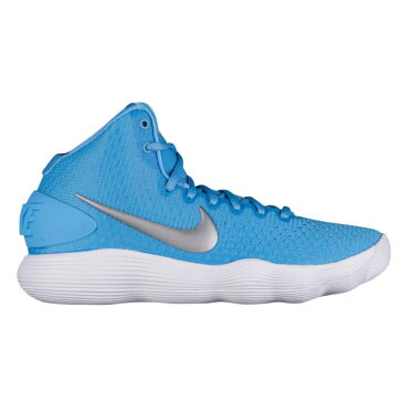 ナイキ Nike レディース バスケットボール シューズ・靴【React Hyperdunk 2017 Mid】University Blue/Metallic Silver/White