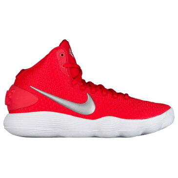 ナイキ Nike レディース バスケットボール シューズ・靴【React Hyperdunk 2017 Mid】University Red/Metallic Silver/White