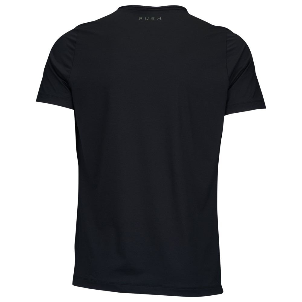 アンダーアーマー Under Armour メンズ フィットネス・トレーニング トップス【Rush Fitted T-Shirt】Black/Black