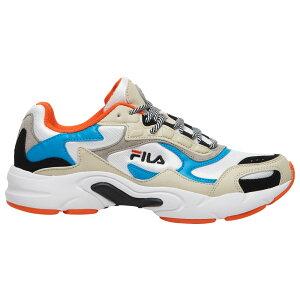 フィラ Fila メンズ フィットネス・トレーニング シューズ・靴【luminance】White/Atomic Blue/Red Orange