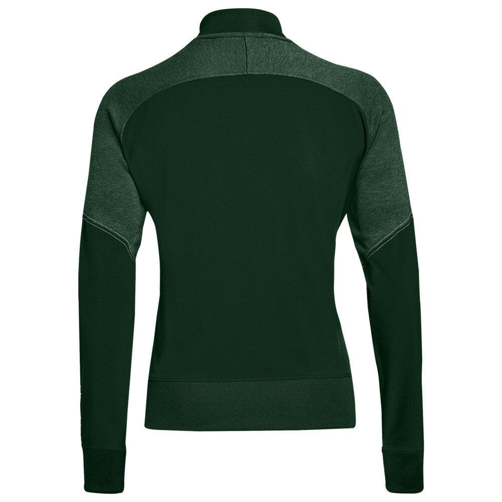 アンダーアーマー Under Armour レディース アウター ジャケット【Team Qualifier Hybrid Warm-Up Jacket】Green/White