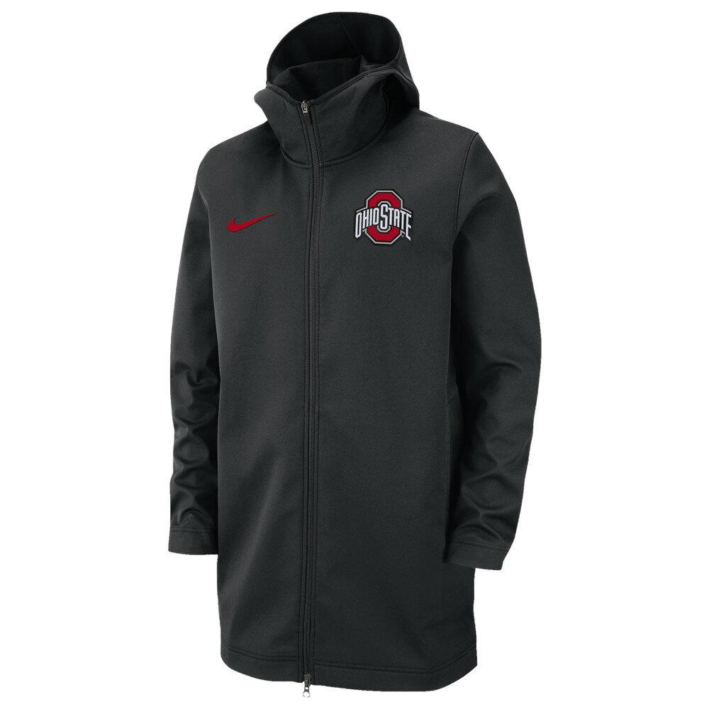 ナイキ Nike メンズ アウター ジャケット【College Protect Travel Jacket】NCAA Ohio State Buckeyes Black
