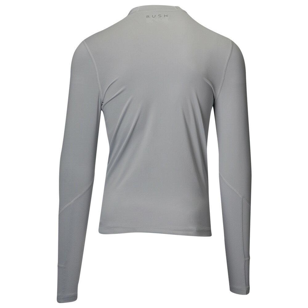 アンダーアーマー Under Armour メンズ トップス 長袖Tシャツ【Rush Compression L/S Scuba】Mod Grey/Black