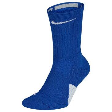 ナイキ Nike ユニセックス バスケットボール 【Elite Crew Socks】Game Royal/White