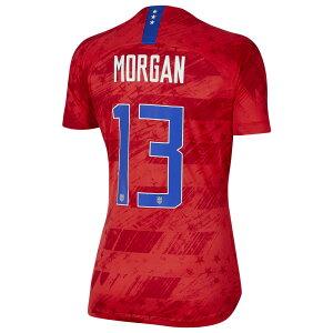 ナイキ Nike レディース サッカー ユニフォーム トップス【USA Breathe Stadium Jersey】Soccer National Teams USA Speed Red Away/Alex Morgan