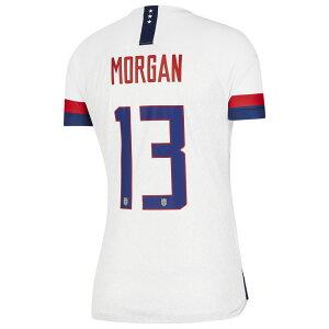 ナイキ Nike レディース サッカー ユニフォーム トップス【USA Breathe Stadium Jersey】Soccer National Teams USA White/Blue Void Home/Alex Morgan