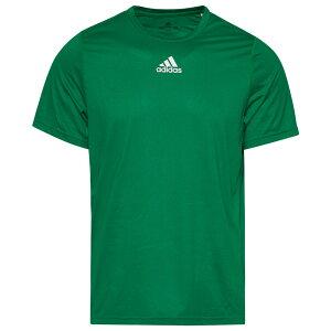 アディダス adidas メンズ フィットネス・トレーニング トップス【Team Creator Short Sleeve T-Shirt】Green
