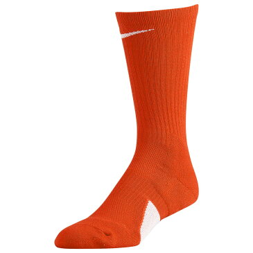 ナイキ Nike ユニセックス バスケットボール 【Elite Crew Socks】Team Orange/White