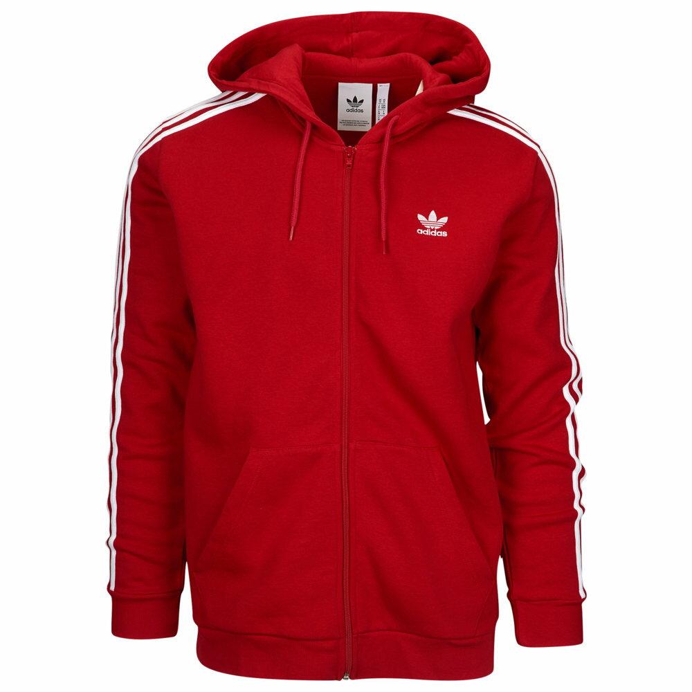 トップス, パーカー  adidas Originals California Fleece Full-Zip HoodiePower RedWhite