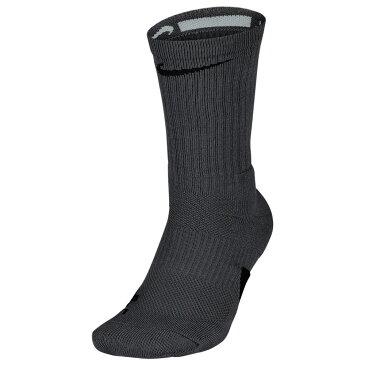 ナイキ Nike ユニセックス バスケットボール 【Elite Crew Socks】Dark Grey/Black