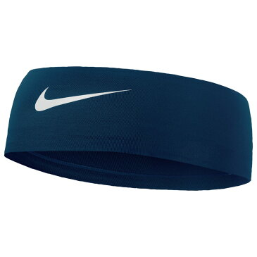 ナイキ Nike レディース ヘアアクセサリー ヘッドバンド【Fury Headband 2.0】Midnight Navy/White