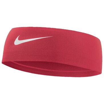 ナイキ Nike レディース ヘアアクセサリー ヘッドバンド【Fury Headband 2.0】University Red/White