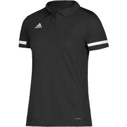 アディダス adidas レディース ポロシャツ トップス【Team 19 Polo】Black/White