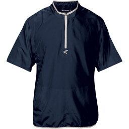 イーストン Easton メンズ 野球 アウター【M5 Short Sleeve Cage Jacket】Navy/Silver
