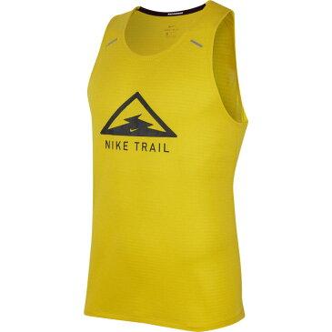 ナイキ Nike メンズ ランニング・ウォーキング タンクトップ トップス【Trail Dry Tank】Speed Yellow/Black