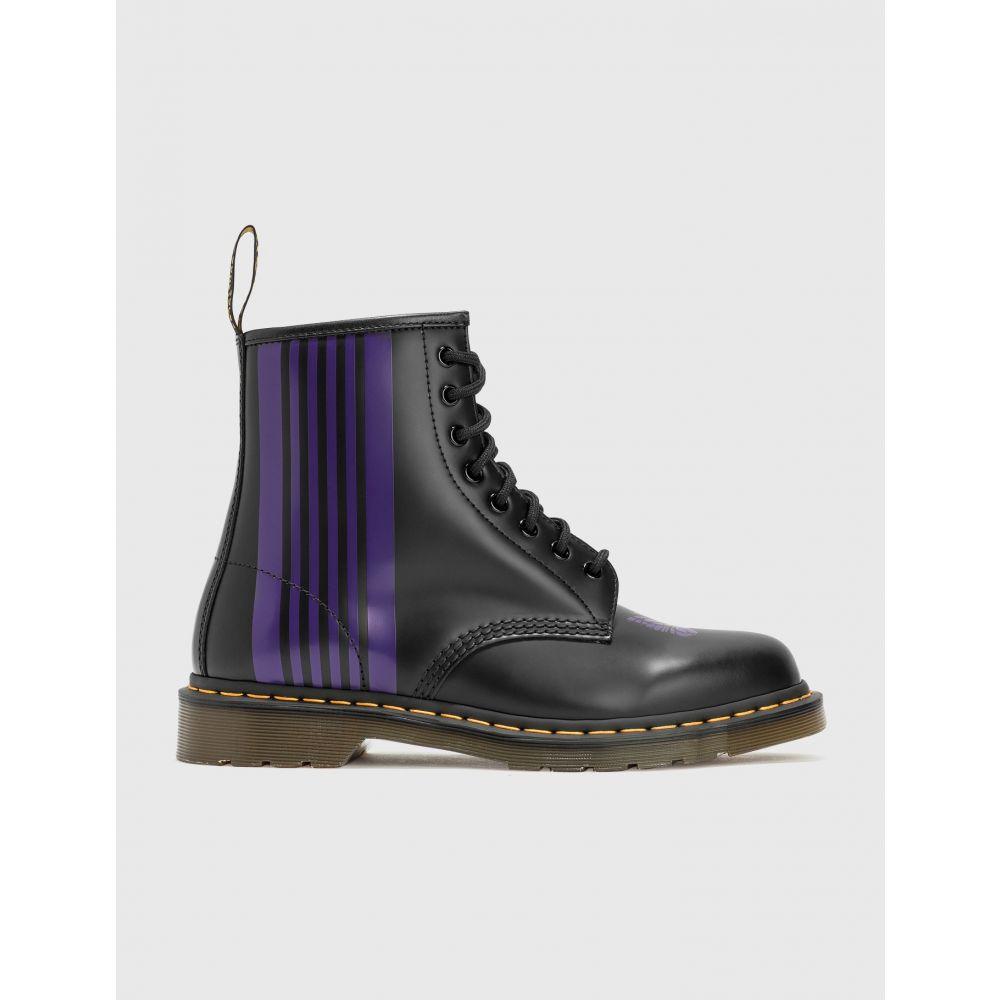 ドクターマーチン Dr. Martens メンズ ブーツ シューズ・靴【needles x 1460 boots】Black/Purple画像
