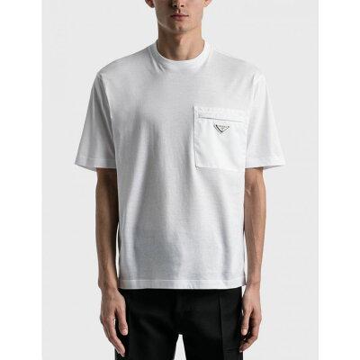 30代40代メンズに似合うチビロゴTシャツ