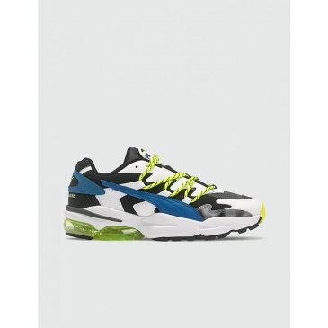 プーマ Puma メンズ スニーカー シューズ・靴【x Les Benjamins CELL Alien】Lime Yellow/White/Blue/Black/Grey