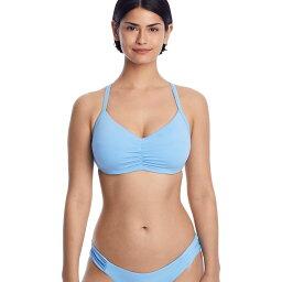 ベッカ Becca レディース トップのみ 水着・ビーチウェア【Color Code Underwire Bikini Top D-F Cups】Sky Blue