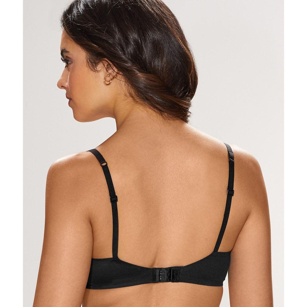 カルバンクライン レディース インナー・下着 ブラジャーのみ【Calvin Klein Perfectly Fit Modern T-Shirt Bra】Black