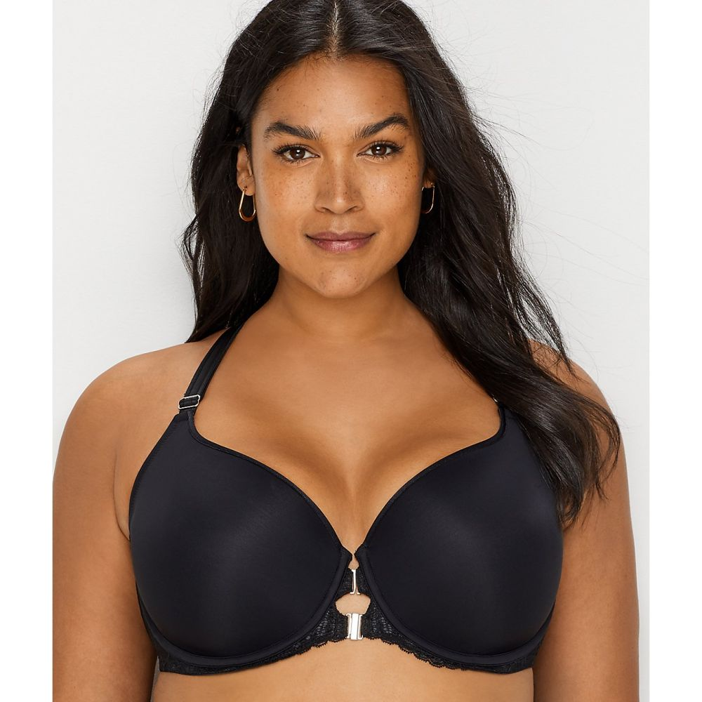 Women/'s Curvy Couture Tulip Smooth Convertible T-Shirt Bra