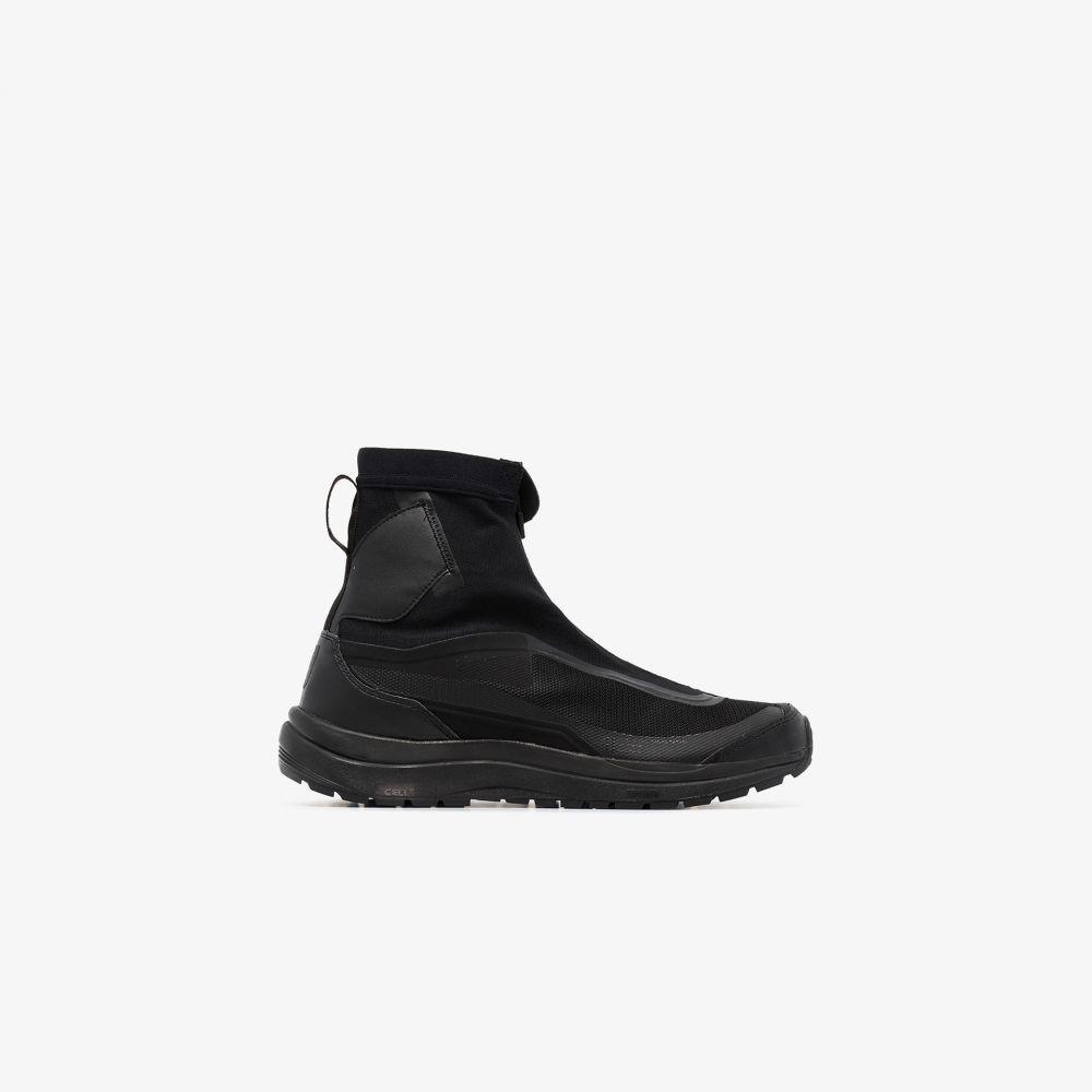 メンズ靴, スニーカー  Salomon SLab X Boris Bidjan Saberi black Bamba 2 high top sneakersblack