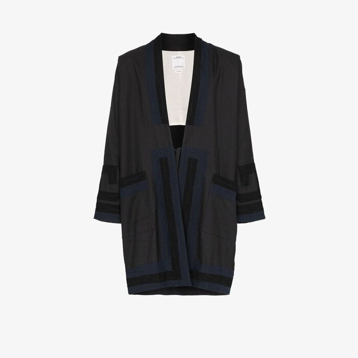 ビズビム Visvim メンズ ジャケット アウター【contrast detail kimono jacket】blue