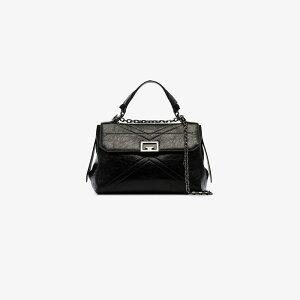 गिवेंची गिवेंची लेडीज शोल्डर बैग बैग [ब्लैक आईडी मीडियम लेदर क्रॉस बॉडी बैग] काला