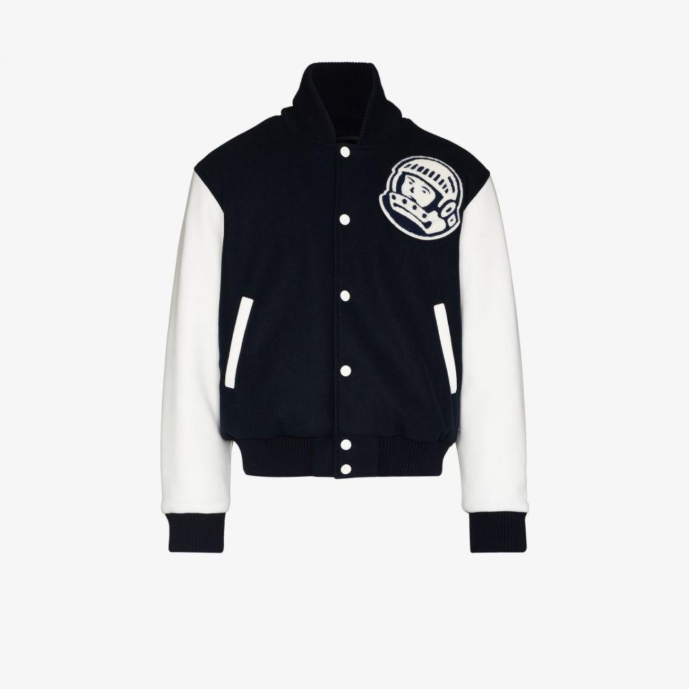 メンズファッション, コート・ジャケット  Billionaire Boys Club Astro varsity bomber jacketblue