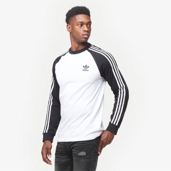 トップス, Tシャツ・カットソー  ADIDAS TCalifornia Long Sleeve T-ShirtWhiteBlack