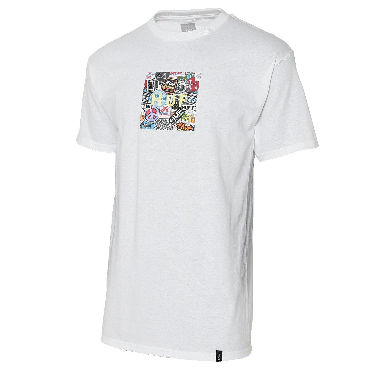 トップス, Tシャツ・カットソー  HUF TSTICKER WARS BOX LOGO SS TEEWHITE