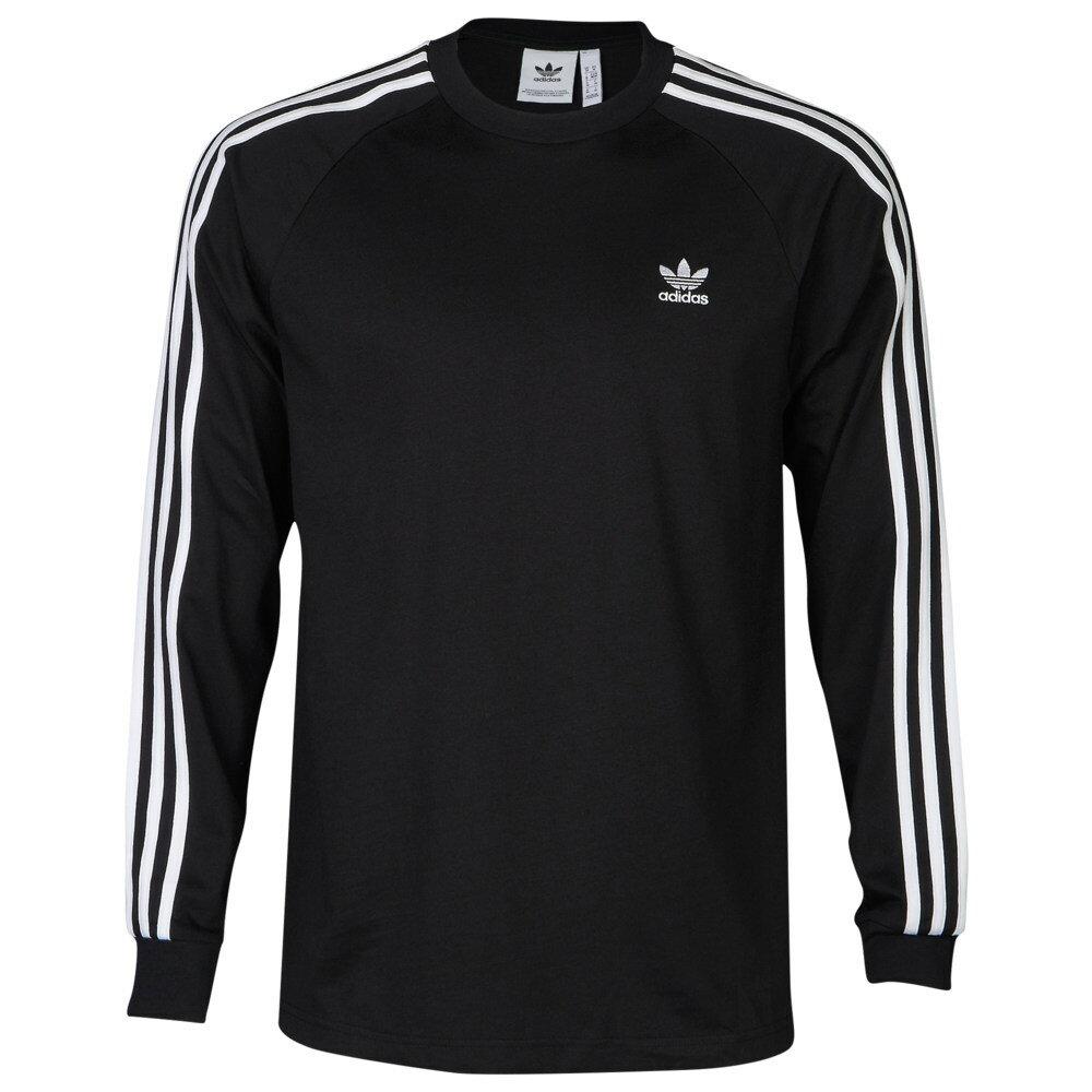 トップス, Tシャツ・カットソー  Adidas TCalifornia Long Sleeve T-ShirtBlackWhite T T