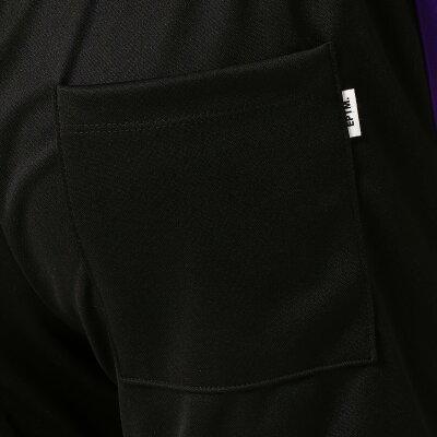 【即納】エピトミEPTMメンズボトムス・パンツスウェット・ジャージ【TRACKPANTS】BLACK/PURPLEトラックパンツ裾ジップサイドライン