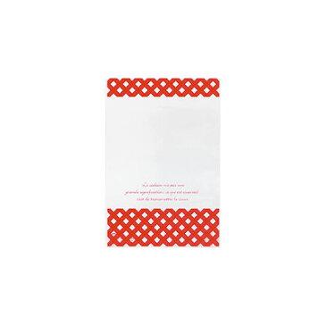 チェックOPPギフトバッグ-5 (50入 ) [包装資材バッグ袋・ギフトOPPバッグ][13/1210]{子供会 景品 お祭り くじ引き 縁日}