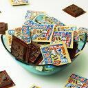 業務用 かんばんシールチョコ 100付{チョコレート チョコ 大量 お菓子 子供会 景品}[13/0921]{駄菓子 問屋}の商品画像