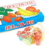 フルーツ糸引き飴 60入{子供会 景品 お祭り 縁日 駄菓子 問屋}