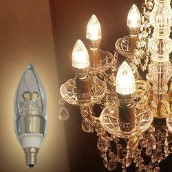 シャンデリア照明に最適なLED電球