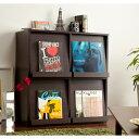 【フラップ式ディスプレイラック】BOOK収納マガジンラックコミック収納コミックラックブックラ...