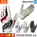 【FG】テーラーメイド ゴルフ TaylorMade CCN46 インタークロス 4.0 グローブ