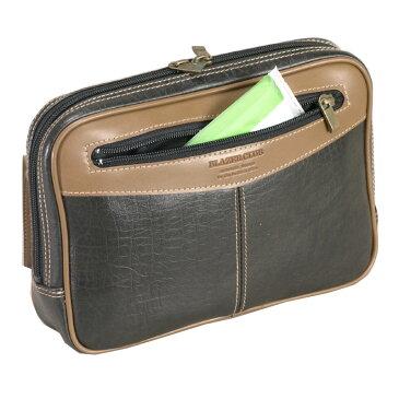 バレンタイン クーポンあり セカンドバック メンズ A5 セカンドポーチ 撥水 シンプルデザインで普段使いに合わせやすい 豊富なポケットでスッキリ収納できる 日本製 豊岡製鞄 24cm #25340 ポイント10倍 hira39