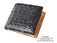 ギフトメンズレディース包装プレゼントゴダンGODANEspcw8009cpクロコ折財布P19May15